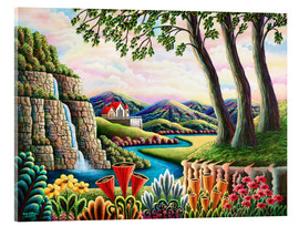 Acrylglasbild  Fluss des Traumes - Andy Russell