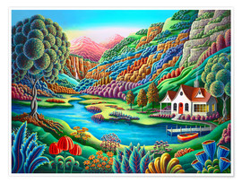 Premium-Poster  Tagesanbruch - Andy Russell