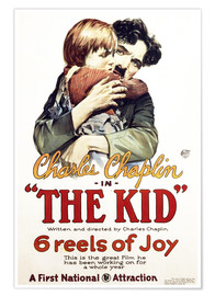 Premium-Poster Charlie Chaplin - The Kid, 1921