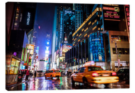 Leinwandbild  Broadway by night - New York City - Sascha Kilmer