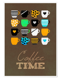 Premium-Poster Coffee Time