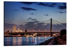 Alubild  Daybreak in Cologne - Tanja Arnold Photography