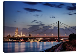 Leinwandbild  Daybreak in Cologne - Tanja Arnold Photography