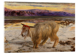Acrylglasbild  Der Sündenbock - William Holman Hunt