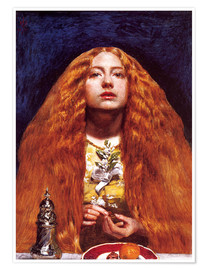 Premium-Poster  Die Brautjungfer - Sir John Everett Millais