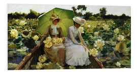 Forex  Lotosblumen - Charles Courtney Curran