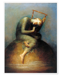 Poster  Hoffnung - George Frederic Watts