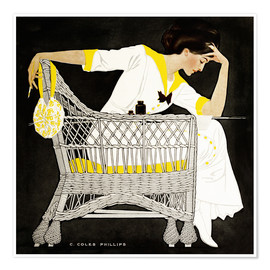 Premium-Poster  Sommerfiktion - Clarence Coles Phillips