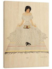 Holzbild  Welche - Clarence Coles Phillips