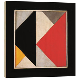Holzbild  Counter Composition XIII - Theo van Doesburg