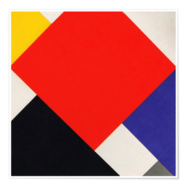 Premium-Poster  Komposition V - Theo van Doesburg