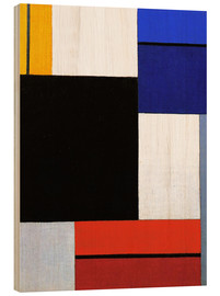 Holzbild  Komposition xxi - Theo van Doesburg