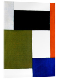 Acrylglasbild  Komposition 1923 - Theo van Doesburg