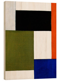 Holzbild  Komposition 1923 - Theo van Doesburg