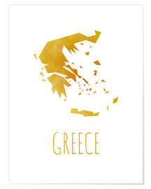 Premium-Poster  Greece - Stephanie Wittenburg