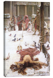 Leinwandbild  Saint Eulalia - John William Waterhouse