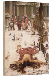 Holzbild  Saint Eulalia - John William Waterhouse