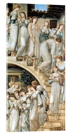 Acrylglasbild  Die goldene Treppe - Edward Burne-Jones