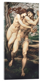 Acrylglasbild  Baum der Vergebung - Edward Burne-Jones