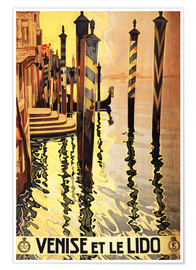 Premium-Poster  Venise et le Lido - Travel Collection