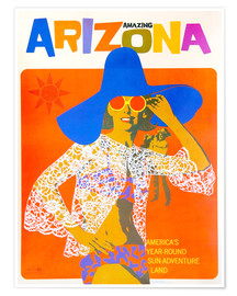 Premium-Poster  Erstaunliches Arizona - Travel Collection