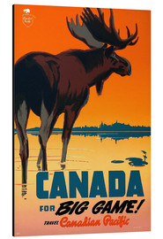 Alubild  Canada for big game travel - Travel Collection