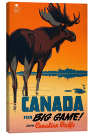 Leinwandbild  Canada for big game travel - Travel Collection