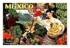 Premium-Poster  Mexiko - Travel Collection