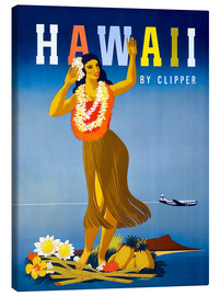 Leinwandbild  Hawaii von Clipper Vintage Reisen - Travel Collection