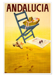 Premium-Poster  Andalucia - Travel Collection