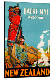Alubild  Haere Mai welcome to New Zealand - Travel Collection