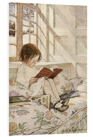Obraz na PCV  Picture books in winter - Jessie Willcox Smith