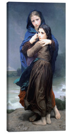 Leinwandbild  Der Sturm - William Adolphe Bouguereau