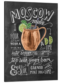 Alu-Dibond  Moscow Mule - Lily & Val