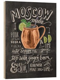 Holzbild  Moscow Mule - Lily & Val
