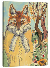 Leinwandbild  Autumn Fox - Katie O'Hagan