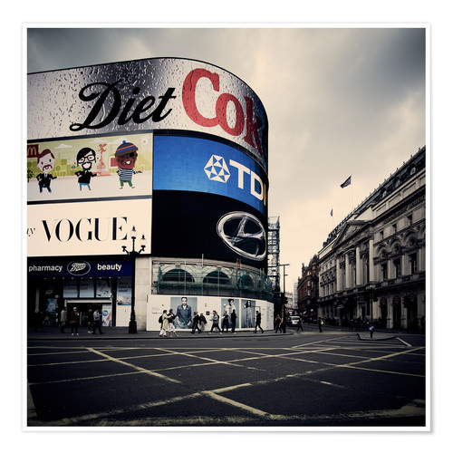 Premium-Poster Picadilly Circus - London
