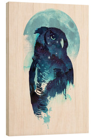 Holzbild  Night Owl - Robert Farkas