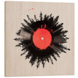 Holzbild  The vinyl of my life - Robert Farkas