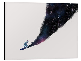 Alu-Dibond  Surfing the universe - Robert Farkas