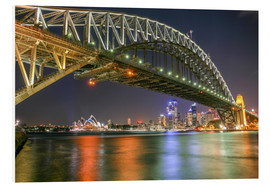 Hartschaumbild  Sydney Harbour Bridge I - Thomas Hagenau