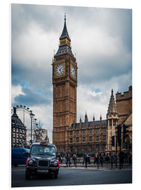 Hartschaumbild  London - Big Ben - Alexander Voss