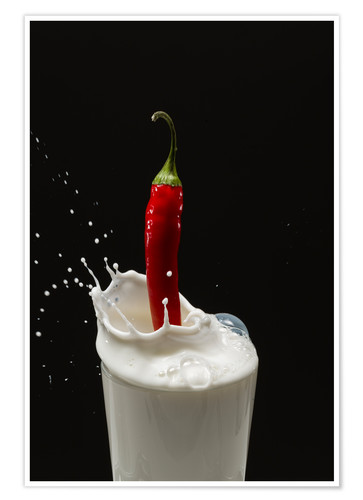 Poster Chilli Milch