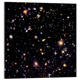 Acrylglasbild  Hubble Extreme Deep Field - NASA