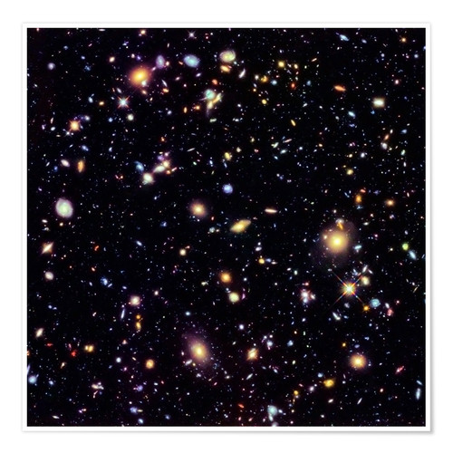 Premium-Poster Hubble Extreme Deep Field