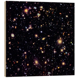 Holzbild  Hubble Extreme Deep Field - Nasa