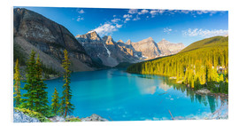 Hartschaumbild  Moraine Lake panorama - rclassen