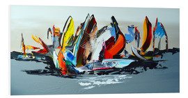 Forex  Abstract sailing - Theheartofart Gena