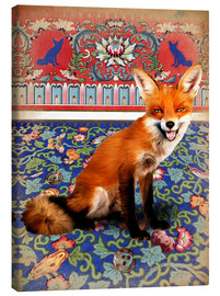 Leinwandbild  The Fox - Mandy Reinmuth