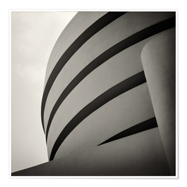 Premium-Poster Guggenheim Museum, New York City